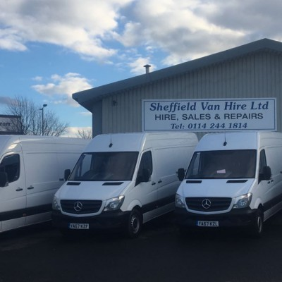 Sheffield Van Hire Vans for Hire sprinters